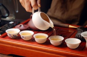 Ivan Chai tea ceremony