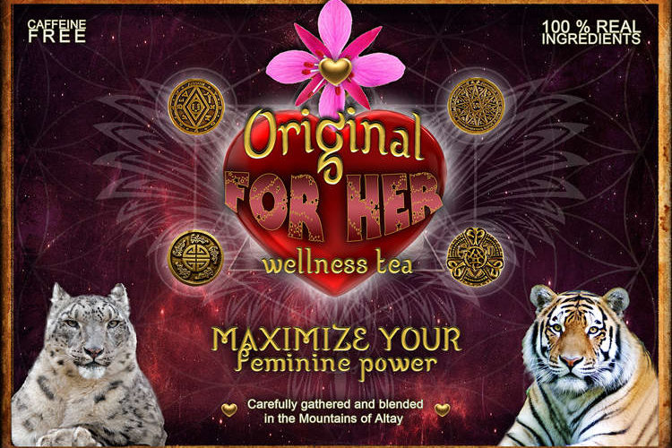 "Herbal Tea ""For Her"" - Feminine Power"