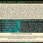 "Herbal Tea ""Siberian"" benefits"