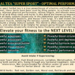 Super Sport Tea Benefits