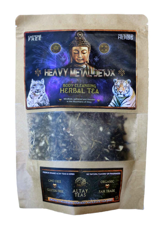 Heavy Metal Detox Herbal Tea Bag