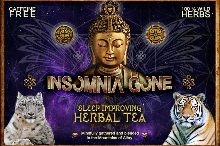Insomnia gone herbal tea